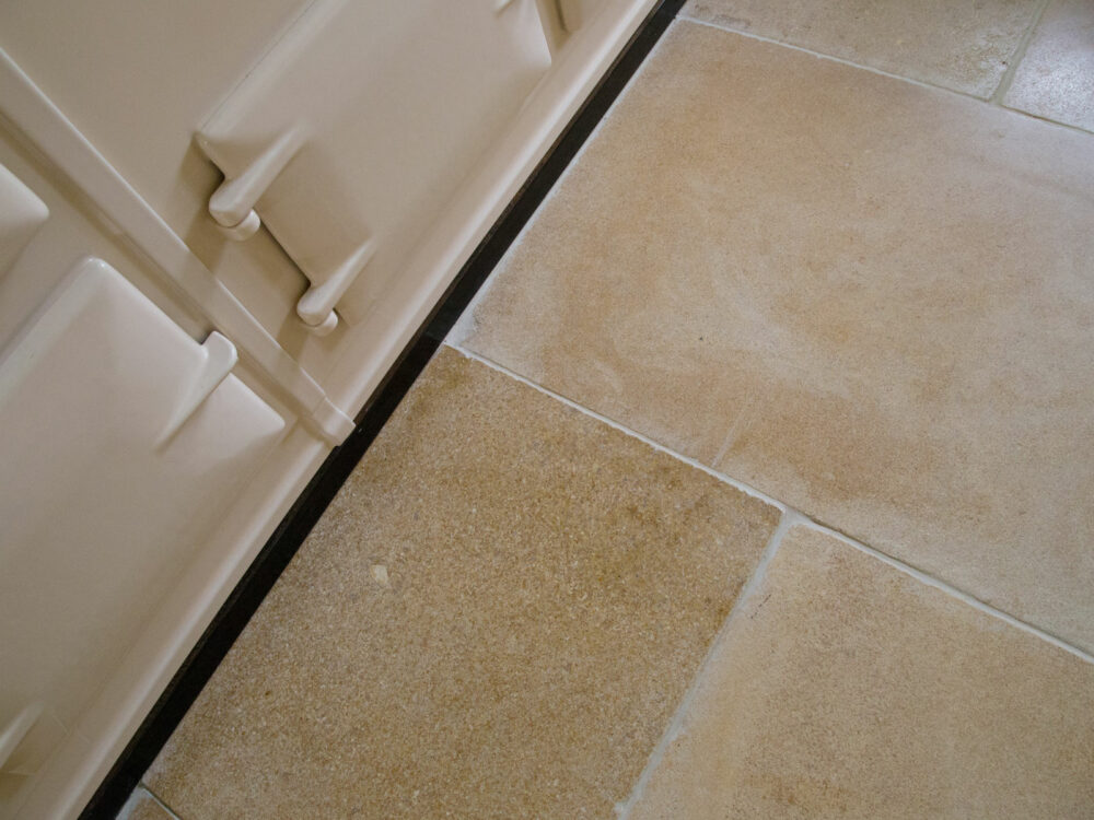 Lanherne Antiqued Limestone Floor Tiles