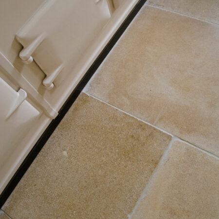 Lanherne Antiqued Limestone Floor Tiles