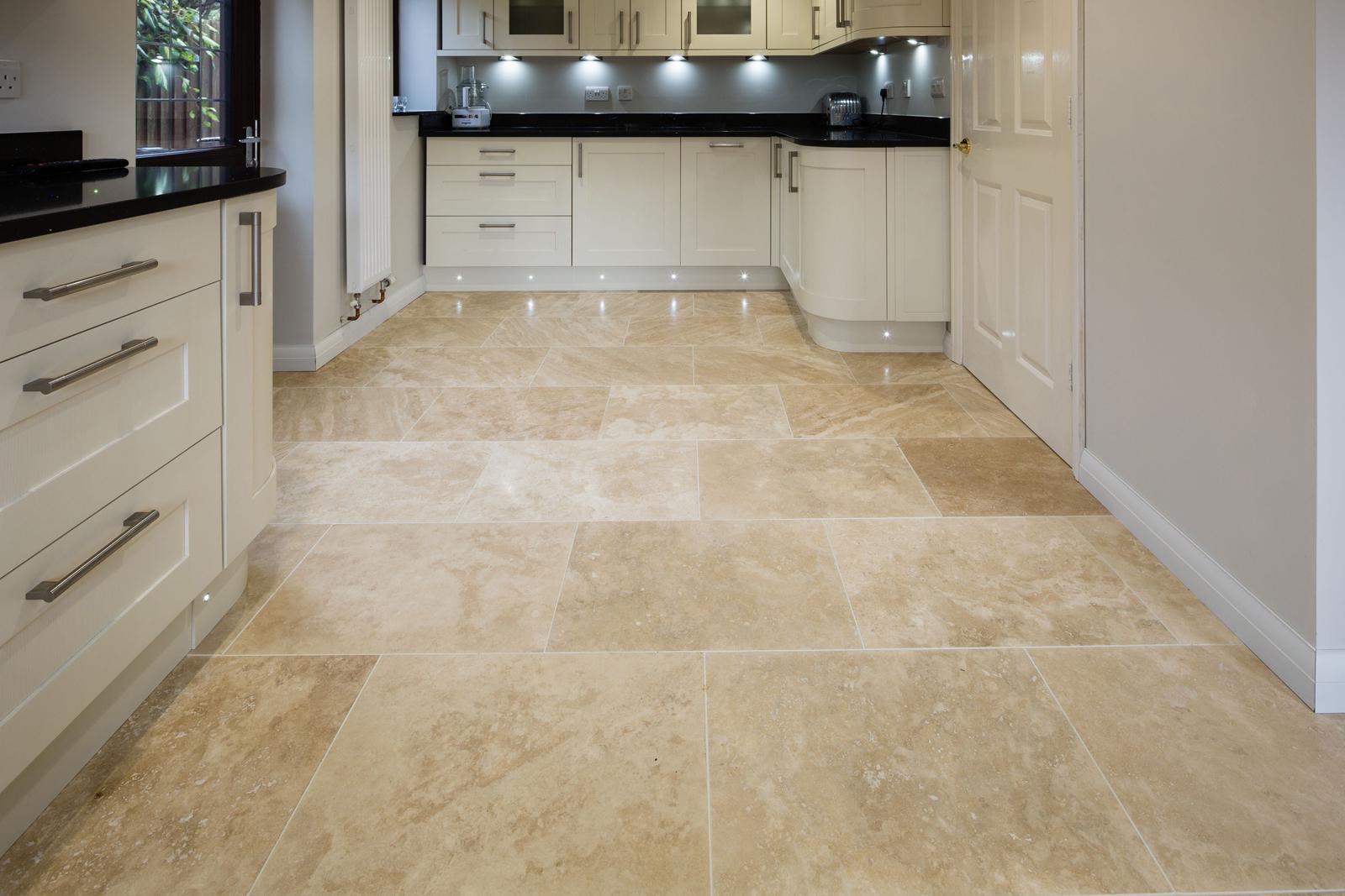 Ionian Honed & Filled Travertine Floor Tile