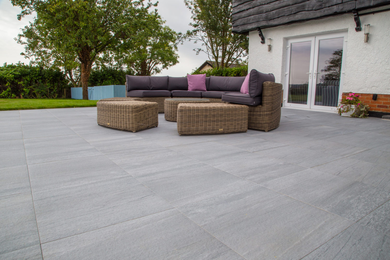 Valley Grey Porcelain Paving