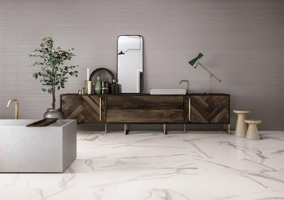 Apollo Lux Marble Gold Gloss Porcelain Tile