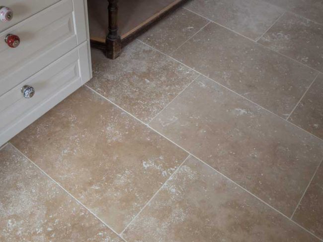 How to Lay Travertine Tiles | DT Stone